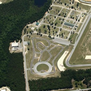 Carolina Motorsports Park Kart Track