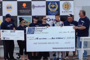 Manitoba Karting Association Donations to Racing with Autism
