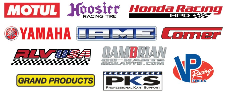 IKF 2-Cycle Grand Nationals 2015 Sponsors