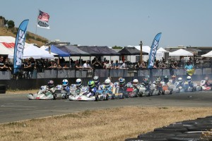 Nearly 150 drivers competed at the fourth round of the California ProKart Challenge at Simraceway Performance Karting Center (Photo: Tony Leone - DromoPhotos.com)