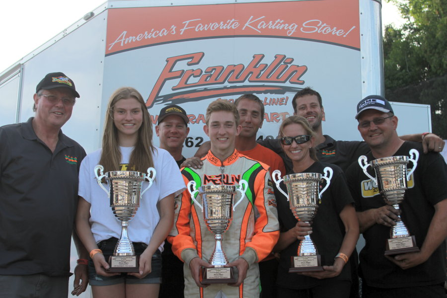Lemke and the entire Franklin/Merlin Nation enjoyed four victories in Shawano (Photo: EKN)