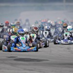Jason Welage was victorious for Top Kart in the TaG Cadet division (Photo: www.OTP.ca)