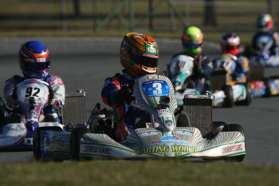 Zane Morse returned to the top step of the podum in KF3  (Pic: Coopers Photography)