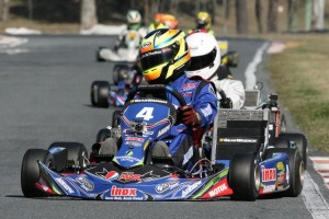 Local driver Scott Sorensen took the win in KF2 (Pic: Coopers Photography)