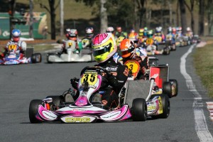 Jason Pringle was victorious for the CRG Australia team in KZ2  (Pic: Coopers Photography)