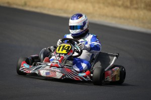 Longtime Aluminos driver Jonathan Allen was among a handful of team drivers to win at the Northern California Karting Road Racing event at Thunderhill (Photo: Tony Leone - DromoPhotos.com)