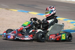 Will Preston earned his first S2 Semi-Pro win at the California ProKart Challenge with the Aluminos squad (Photo: eKartingNews.com)