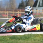 EKN's Rob Howden OnTrack with the Italian Motors Italkart powered by an X125 at the SIMA facility (Photo: EKN - Alycia Hodapp)