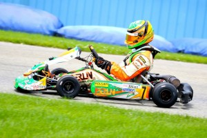 Stephen Dial continued his winning ways in the Komet division (Photo: Kathy Churchill - Route66kartracing.com)