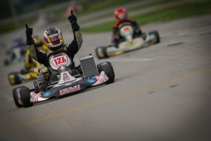 Jesus Rios Jr. gave iKart its first SKUSA victory with a win in TaG Senior (Photo: On Track Promotions - otp.ca)