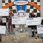 Mechanix Wear Sport Kart Grand Nationals overall podium (Photo: SeanBuur.com)