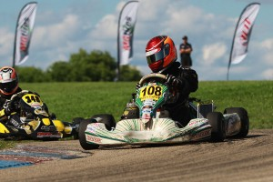 Brandon Jarsocrak remained the championship leader in Leopard Pro following the Shawano   weekend (Photo: EKN)