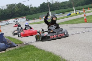 Dustin Demattia improved on his Saturday runner-up performance in LO206 Senior to win on Sunday