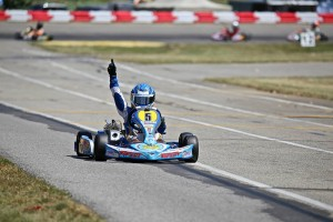 Jason Welage provides another win for Top Kart USA (Photo: Energy Racing - Kathy Churchill)
