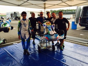 The Mandarinos and VemmeKart Italy have enjoyed success this summer, winning at Lonato in Rok Cup competition