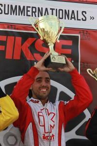 Jesus Rios Jr. - EKN Driver of the Month - July 2015 (Photo: EKN)