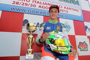 KF Italian Champion Jacopo Gheno