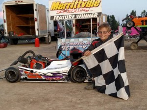 Kyle Phillips Victory Lane August 11th
