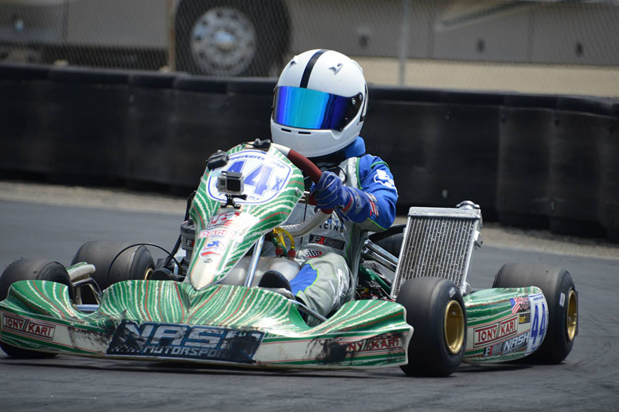 Dante Yu earned his first victory in the PRD 2 category, sweeping the day (Photo: LAKC.org)