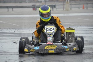 Nick De Graaf bagged his first victory in TaG Master under wet conditions (Photo: LAKC.org)