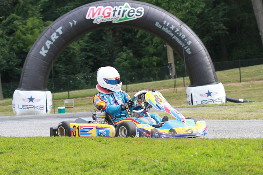 Franklin Motorsports driver Armin Cavkusic was quick all day, earning his first USPKS Leopard Pro victory (Photo: EKN)