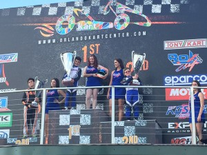 Lachlan DeFrancesco adds another championship to his growing resume (Photo: Team BENIK Kart)