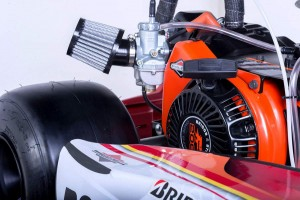 American Margay kart with LO206 engine ready to race (Photo: Margay.com)
