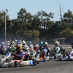 Australia's best kart racers will be in action in Newcastle this weekend (Pic: Coopers Photography)