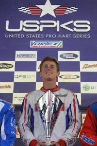 United States Pro Kart Series Yamaha Pro champion Mike McAndrews (Photo: EKN)