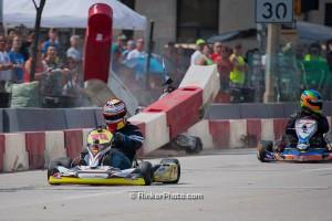 Neilson bounced back from a hard shunt in Saturday's Yamaha SuperCan Heavy heat race (Photo: David Rinker - RinkerPhoto.com)