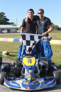2015 RoboPong 200 winners Jake Donald and Brandon Jones (Photo: EKN)