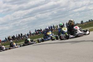 The majority of the 31-kart field was on the IAME X30 powerplant (Photo: EKN)