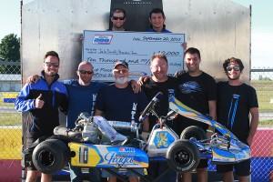KartSport North America / AMR wins the 2015 RoboPong 200 (Photo: EKN)