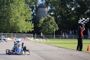 Armin Cavkusic notched another double win weekend in Leopard Senior (Photo: Kathy Churchill - Route66kartracing.com)
