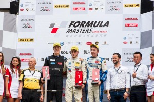 Askew scores second and third place finishes at Formula Masters China Series in Shanghai (Photo: Formula Masters China Series)