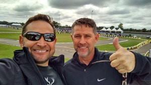 Stacey Cook (Right) and his brother Darren are all smiles after joining the Energy Kart family (Photo: Energy Kart USA)
