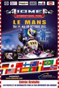 2015 IAME International Final 2015 poster