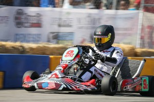 Matt Hamilton piloted his Aluminos kart to the S1 Pro Stock Moto victory (Photo: DromoPhotos.com)