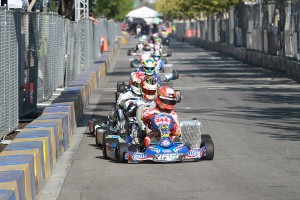 California ProKart Challenge TaG Senior champion Christian Brooks (Photo: EKN)
