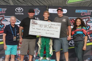 Streets of Lancaster Grand Prix Scholarship winner Trey Brown (Photo: EKN)
