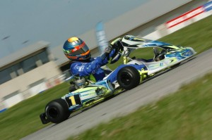 Defending SKUSA Fikse Wheels Pro Tour champion David Malukas will pilot his CompKart in France in the Junior category (Photo: On Track Promotions - otp.ca)