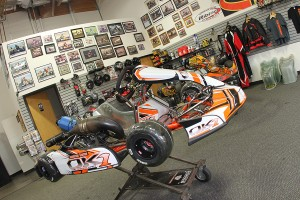 A full shop and retail space for Innovative Karting helps to service karters of all levels in the PHX area