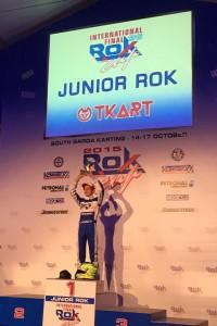 Jagger Jones took the win in the Junior Rok B-Main (Photo: Jagger Jones Racing)