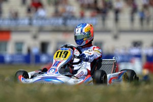 2013 World Karting Champion Tom Joyner will be in action at the final round of the Australian Kart Championship next weekend (Photo: KSP)