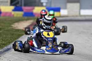 Cole piloting the Praga Dragon EVO at NCMP