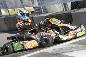 Ron White piloted his CRG to a third place finish in S1 Pro Stock Moto (Photo: eKartingNews.com)
