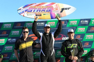 Paul McNeil on top of the podium in the KA Masters class (Photo: Coopers Photography)