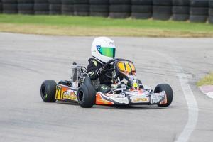Cole Killian wins NSKC Race 10 in Micro Max