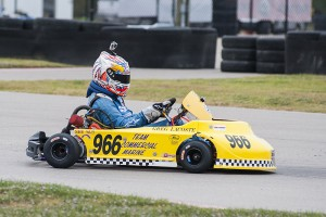 Greg Lacoste Jr. cliches the 2015 NSKC Senior 4-Cycle title
