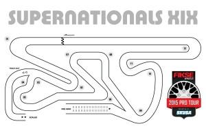 2015 SKUSA SuperNats XIX track